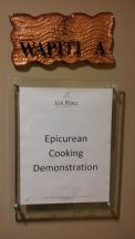 Elk Rdige Epicurean Cooking Demonstration