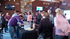 Elk Ridge Resort Epicurean Weekend Welcome Reception at Walleye's